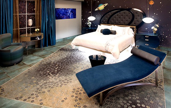 Outer Space Guestroom